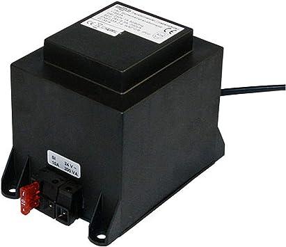 24V Mi-Heat Transformator 1200W Spannungswandler für Heizelemente mit Sicherung
