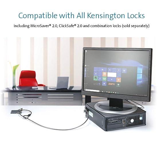Kensington K64613WW - Punto de Anclaje de Cable de Seguridad para Montaje en Escritorio: Amazon.es: Informática
