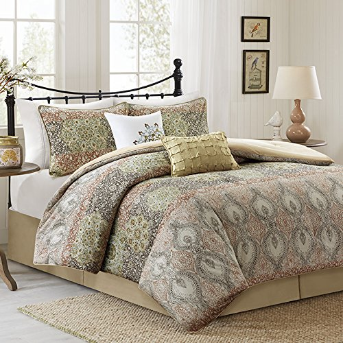 Harbor House Sanya 6 Piece Comforter Set Spice Cal King