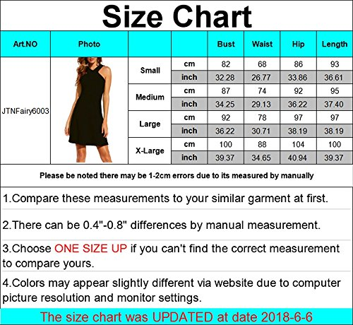 Jtnfairy Womens Sexy Summer Casual Dress Pure Color Personality V