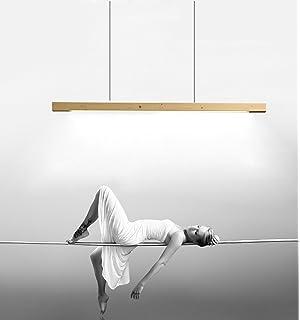 Pendelleuchte LED Pendellampe Hngelampe Hngeleuchte Esstisch Hhenverstellbar Modern Kronleuchter Aus Holz Acryl Fr Kche Wohnzimmer Schlafzimmer