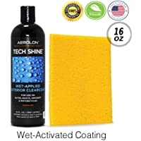 $29 » Aerolon Tech Shine (16 Ounce) Fast Wet-Applied Polymeric Car Wax Coating, Top Coat Polish and…