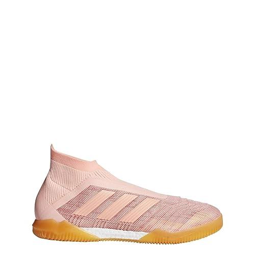 the best attitude 14d56 8f9ba adidas Predator Tango 18+ Indoor Shoe Mens Soccer 8 Clear Orange-Trace Pink