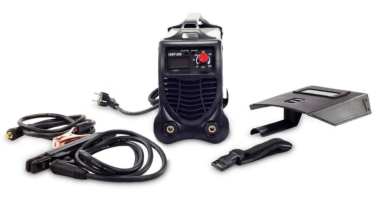 Modelo N300 compacto electrodo sudor dispositivo LCD sudor dispositivo MMA Arc IGBT: Amazon.es: Bricolaje y herramientas