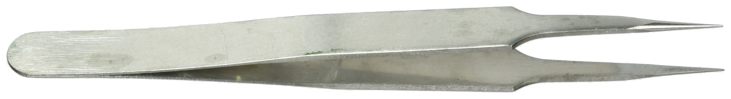 uxcell Picking Metal Pointed Tip Tweezer Nipper 5'' Long
