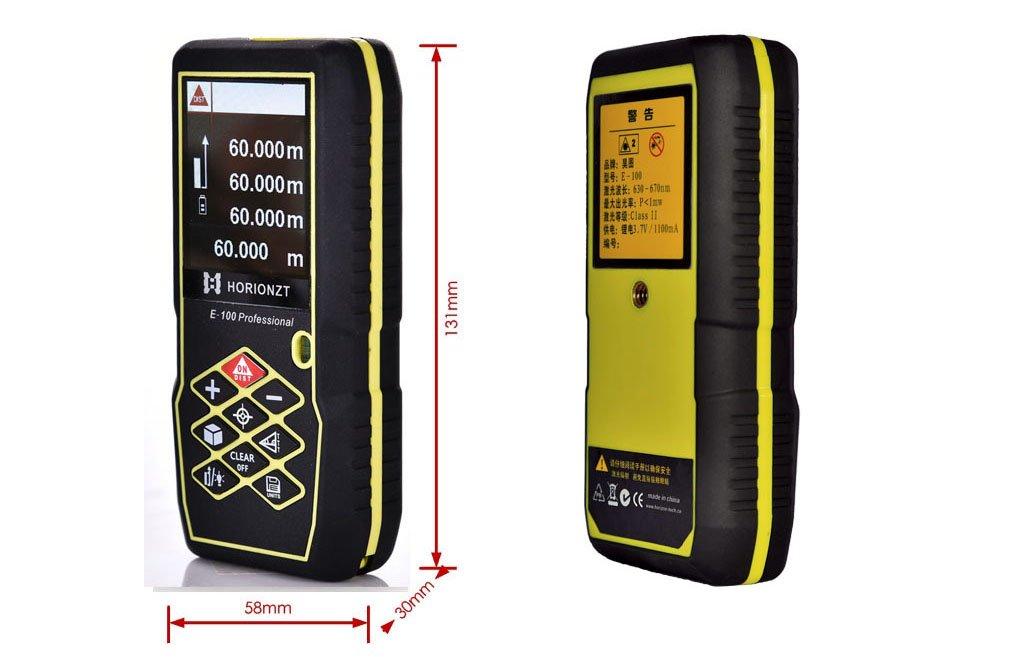 Horionzt m ft laser entfernungsmesser handheld digital