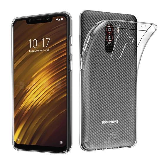 uk availability 6b1d0 b7034 Amazon.com: AVIDET Xiaomi Pocophone F1 / Xiaomi Poco F1 Case ...