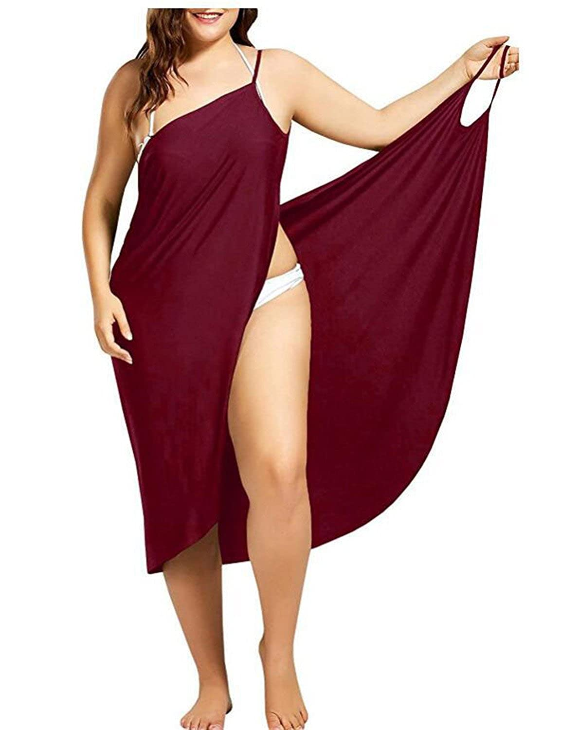 Maroon Backless Dresses