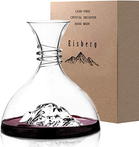 Iceberg-Wine-Decanter-Aerator-100%-Hand-Blown-Lead