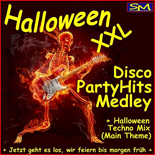 Halloween XXL Disco Techno Party Hits Medley (Jetzt