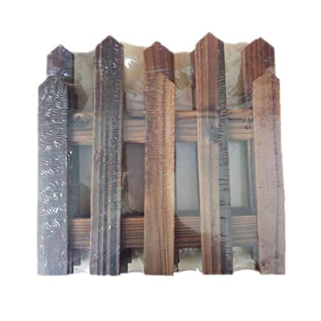 Wooden Christmas Tree Fence Picket Garden Fence Border Lawn Edging
