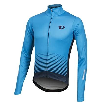 0411edb5c Image Unavailable. Image not available for. Color  Pearl iZUMi Elite  Pursuit Thermal Graphic Jersey ...