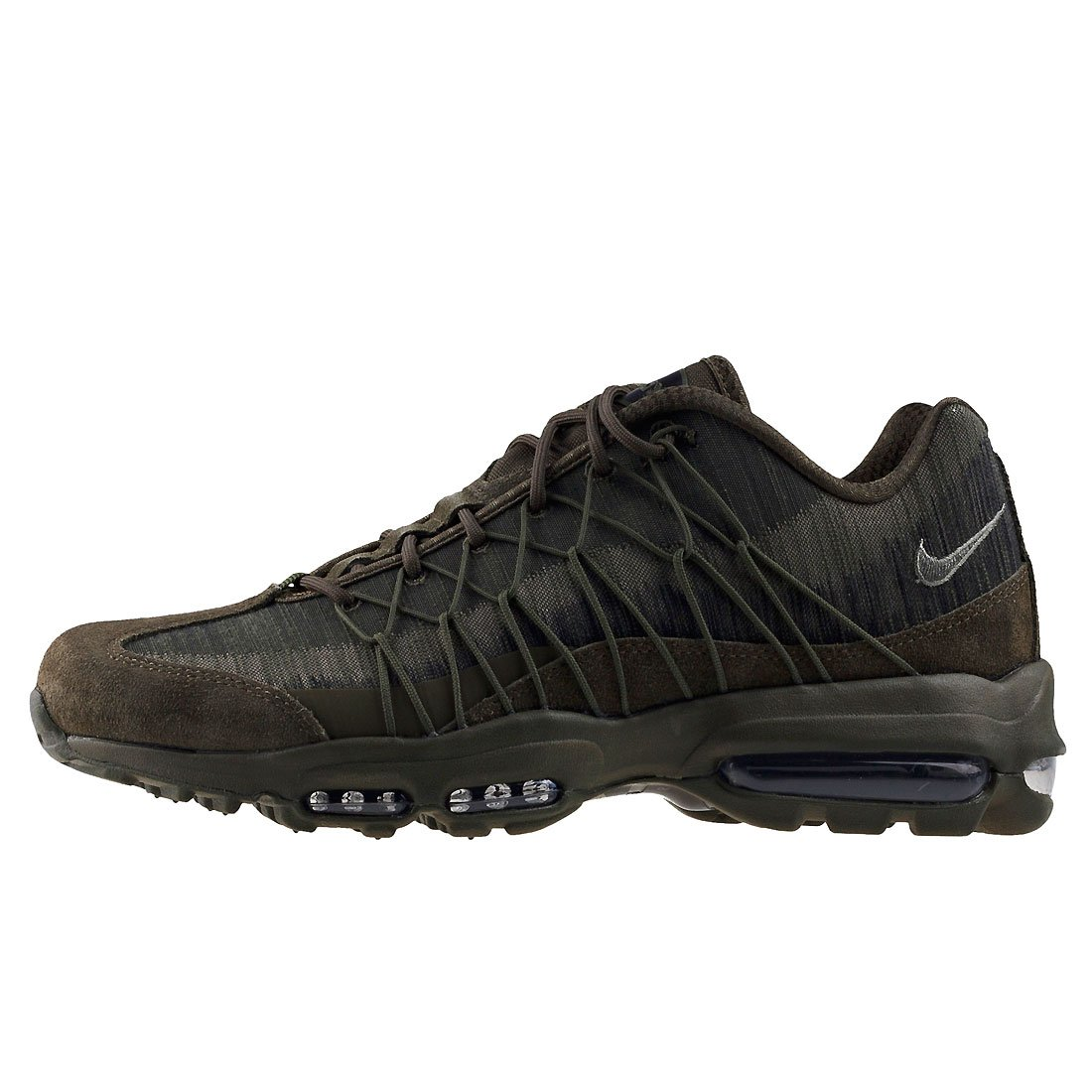 lowest price 2d253 26abf Amazon.com  Nike Mens Air Max 95 Ultra Jacquard Cargo Khaki 749771-301  (Size 8.5)  Fitness  Cross-Training