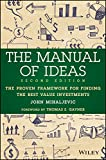 Best Book For Investings - The Manual of Ideas: The Proven Framework Review