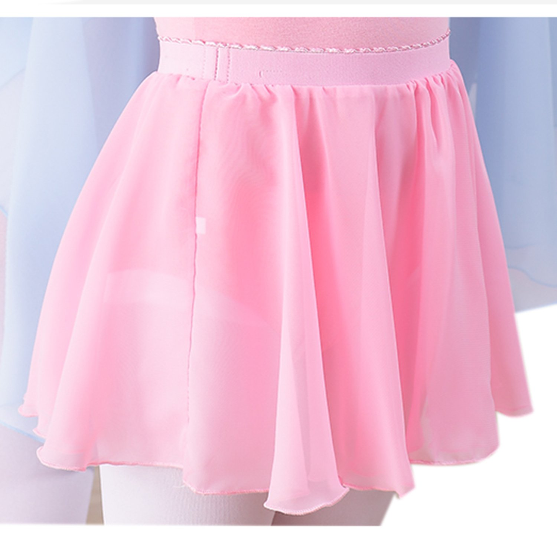 Arshiner Girls Dance Basic Classics Chiffon Wrap Skirt