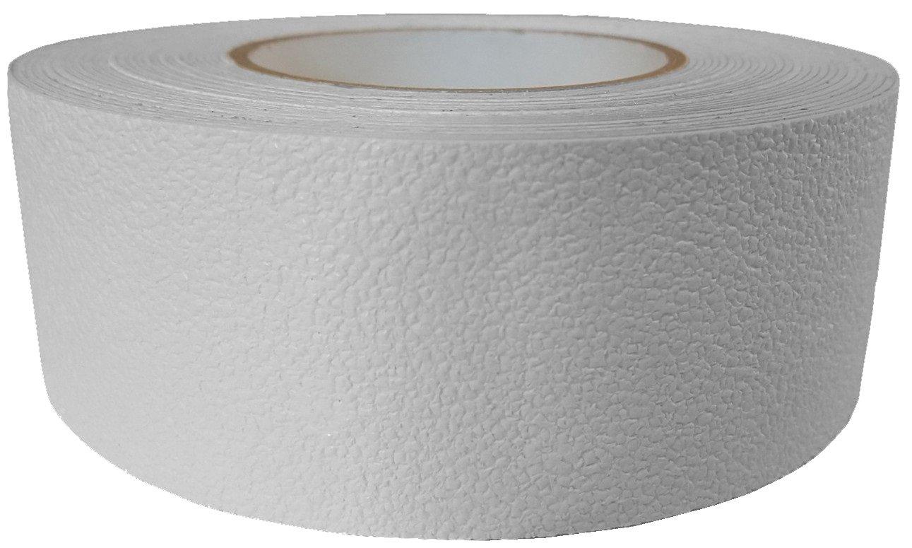 ifloortape Barefoot Friendly Rubberized Anti Slip Tape 2 Inch x 30 Foot Roll - White by ifloortape