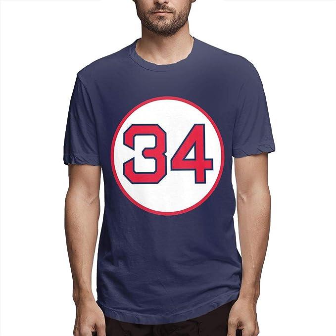 reputable site 681d9 c7c56 Amazon.com: Men's David-Ortiz-Retired Number #34 Short ...