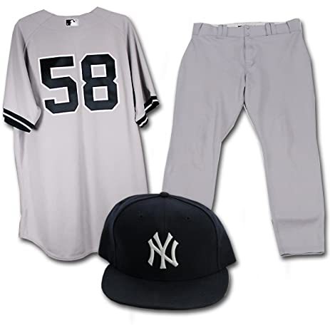 30fb1f878 Image Unavailable. Image not available for. Color  Larry Rothschild Uniform  - New York Yankees Authentic Game Used ...
