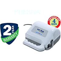 INFI Neb Compacto Nebulizer with 2 Year Warranty - by Prerna (White)