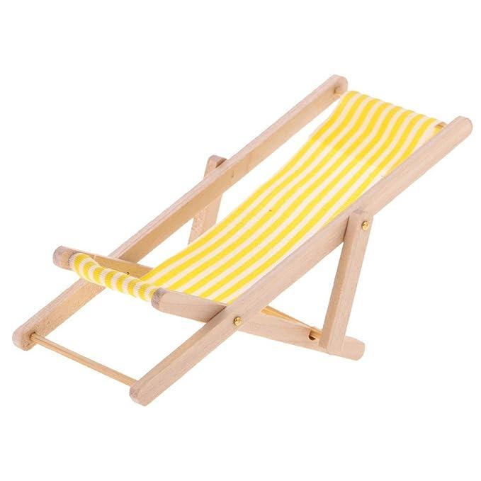 SGerste - Juego de 3 sillas plegables para jardín o playa ...