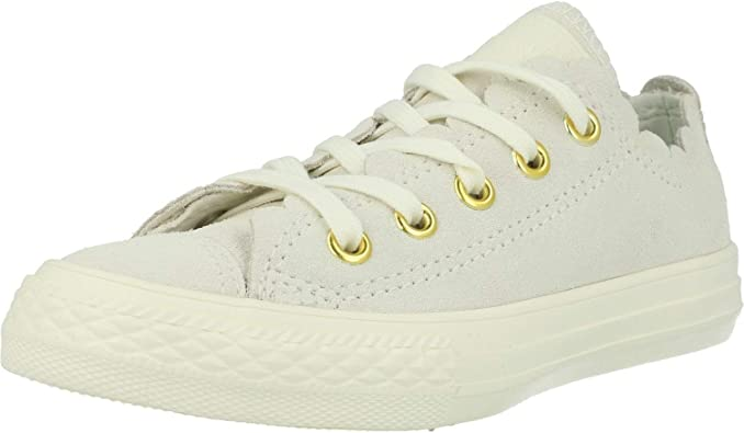 Converse Chuck Taylor All Star Ox Frilly Thrills Crème