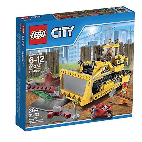 LEGO City Demolition Bulldozer (60074) (Lego Bulldozer)