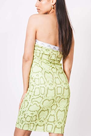 Sixth June - Vestido con espalda descubierta, color amarillo
