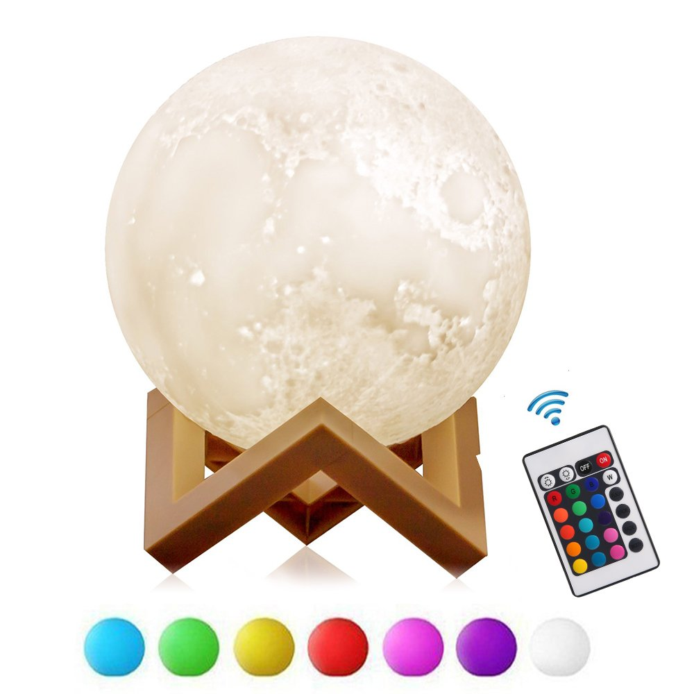 Lights & Lighting Intelligent 3d Usb Hand Shot Lights Moon Night Light Moonlight Table Desk Moon Lamp Gift Touch Control Switch New Year For Creative Home