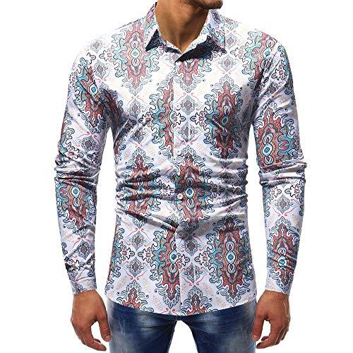 Polo, Camisetas, Blusa,BaZhaHei, Polo de Mangas largas Estampadas Hombre I, Camisas Ocasionales de Manga Larga con Estampado Polo de Hombre Camisetas Blusa ...