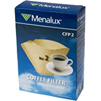 Menalux CFP2 Kağıt Kahve Filtresi, Kahverengi, No:2, 9002563139