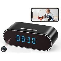 Deals on Hidden Spy Camera Clock WiFi Wireless 1080P Nanny Cam