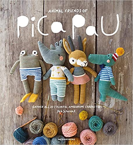 Animal Friends of Pica Pau: Gather All 20 Colorful Amigurumi Animal Characters