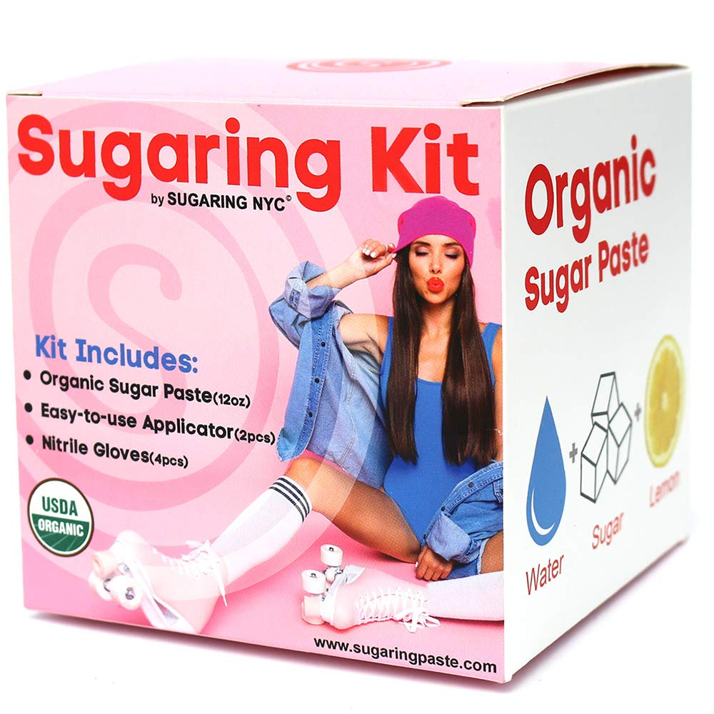 Amazon Com Sugaring Hair Removal Waxing Kit Organic Sugaring