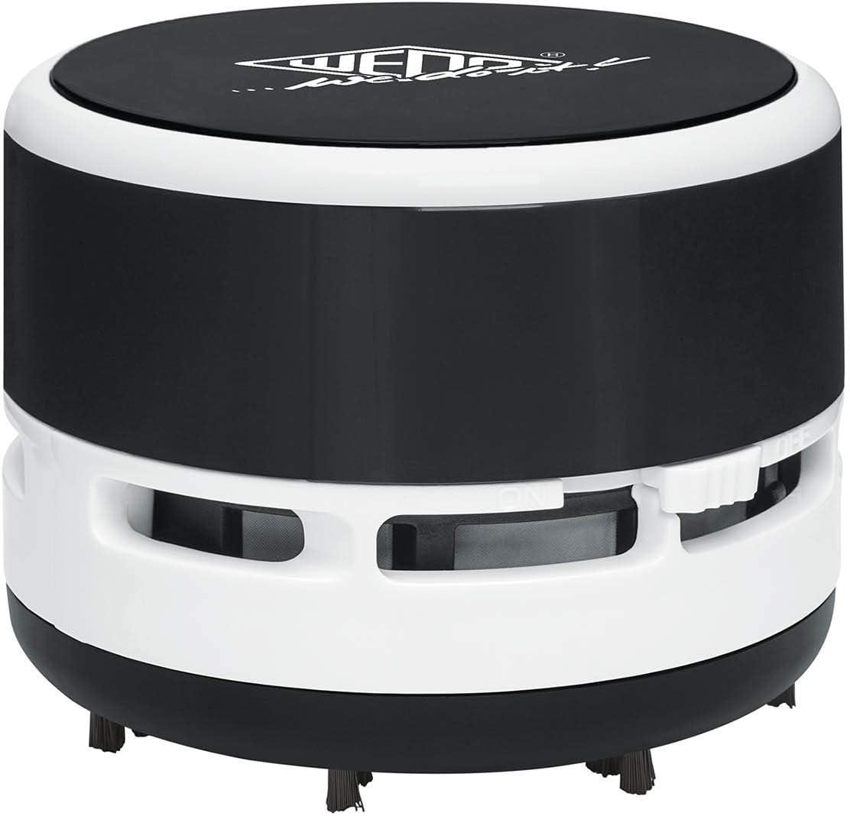 Wedo 20520101 - Mini aspiradora de mesa, cepillos, recipiente ...
