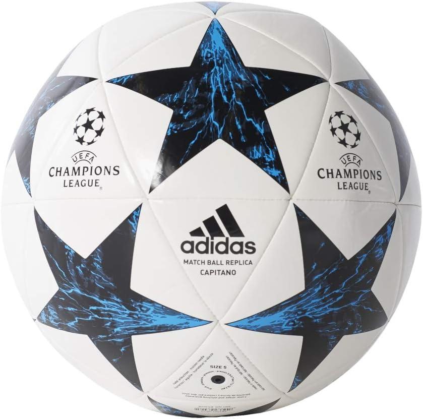 adidas Finale17Rm Cpt Balón, Hombre, Blanco (Blanco/Negro/azuint ...