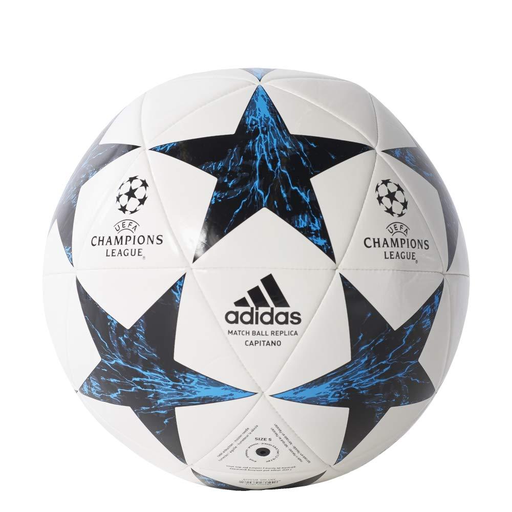 adidas Finale17Rm Cpt Balón, Hombre, (Blanco/Negro/azuint/maosno ...