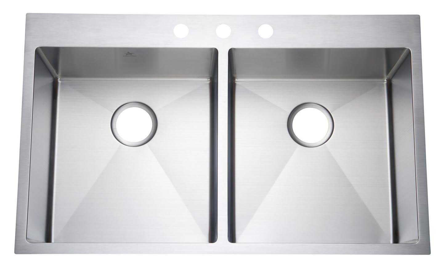 Starstar 36 Inch Top-mount Drop In Stainless Steel Double Bowl Kitchen Sink 16 Gauge