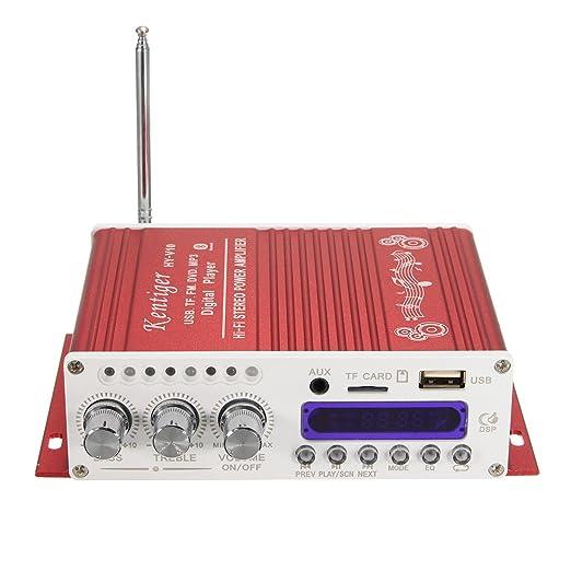 Amazon.com: Wireless Car Amplifier, ELEGIANT Mini Hi-Fi Stereo Audio ...
