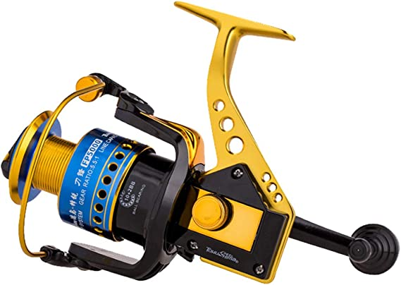 SXSHYUFG Carretes De Pesca 12 Rodamientos Brazo Basculante ...