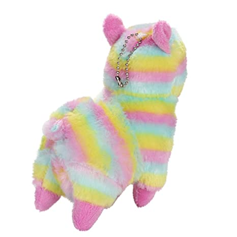 Cute Squishy EUZeo Peluche Juguete Rainbow Alpaca Squishies Kawaii Juguetes Squishy Toy Stress Relief Juguete Slow Rising Juguetes Descompresión Toys: ...