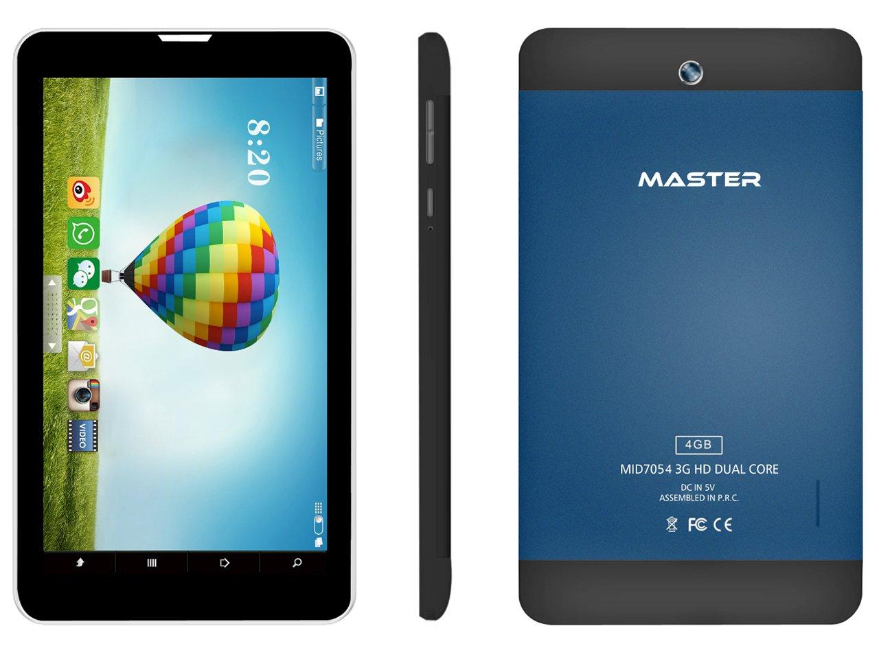 Master Digital MID7054/BL 4GB Negro, Azul - Tablet (Android, Pizarra ...
