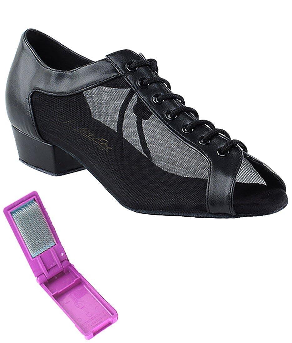 【GINGER掲載商品】 [Very Fine US Dance Shoes] レディース 8.5 B075CST2ZZ B(M) 8.5 B(M) US|ブラックレザー ブラックレザー 8.5 B(M) US, インテリア通販Reliable:67414b1a --- a0267596.xsph.ru