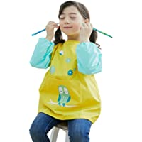 hosim Kids Pintura Delantal para las niñas y los niños, de los niños colorfulart Craft–Smock con mangas largas Gran bolsillo, reutilizable pintura y delantal