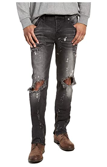 "b7e791daafb9b True Religion Rocco No Flap SE Epam Dark Cyber Rebel Jeans - 30"" Waist  /"