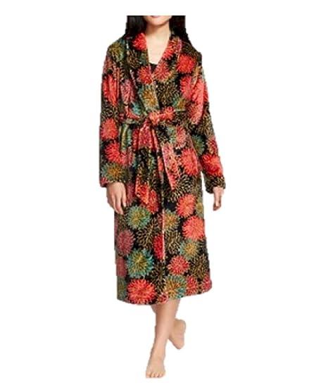 246388b5bb02 Gilligan   O Malley Luxurious Plush Long Sleep Robe for Women Multi ...