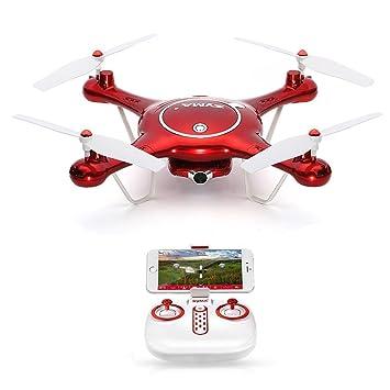 GoolRC SYMA X5UW Drone con Cámara HD 720P Wifi FPV RTF Quadcopter ...