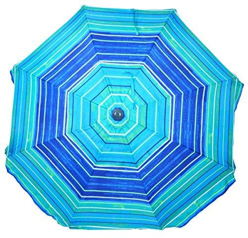 Square Fiberglass Market Umbrella - Shadezilla 9 ft Market/Patio Fiberglass Umbrella with Crank Lift, Tilt, UPF100 Sun protection, Aluminum Pole