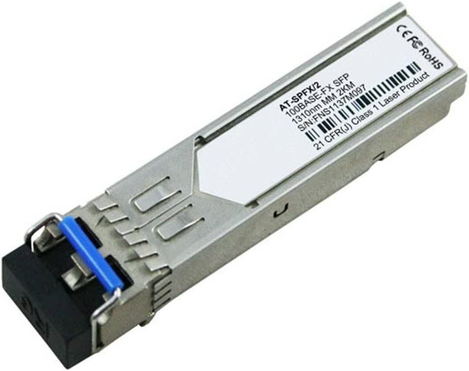 LODFIBER at-SPFX//2 Allied Telesis Compatible 100BASE-FX SFP 1310nm 2km DOM Transceiver