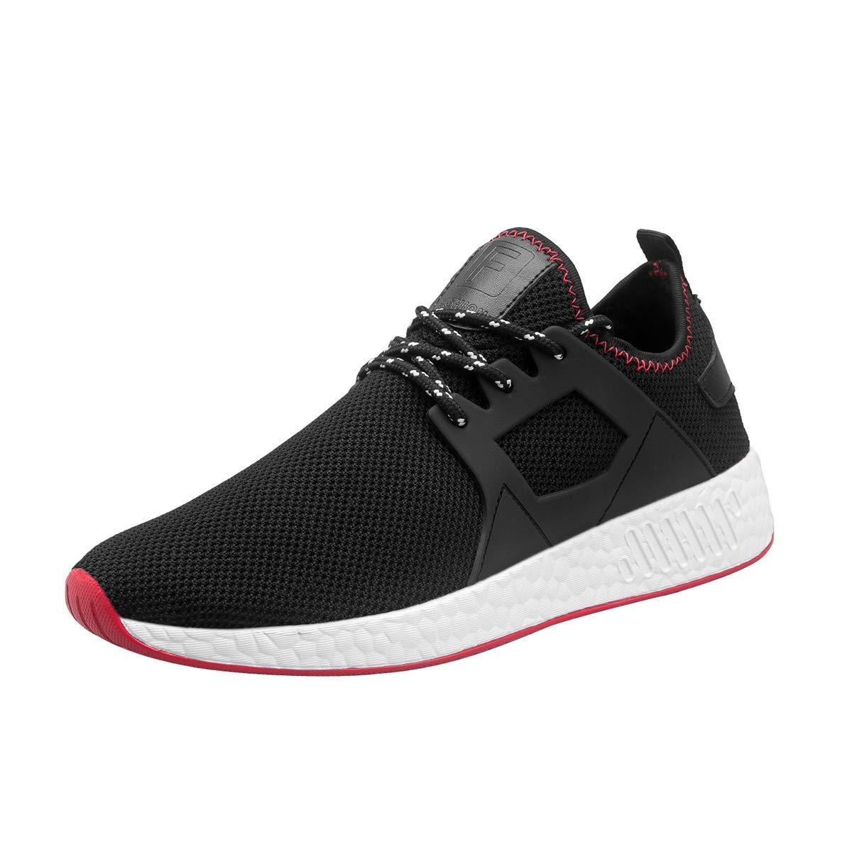 Mevoit Men's Running Shoes Fashion Breathable Sneakers Mesh Soft Sole Casual Athletic Lightweight Walking Footwear Mevoit1022/119