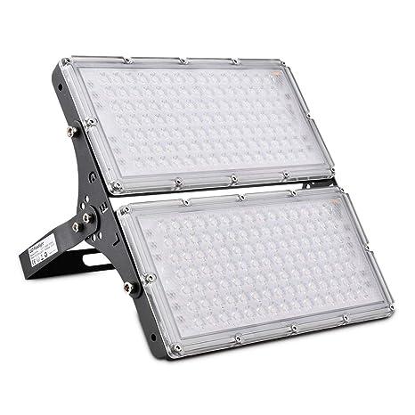 Proyector de exterior LED 200w Proyector de LED, 18000LM para ...